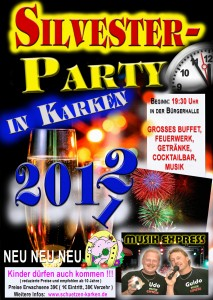 Silvester-Party 2011/2012